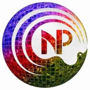 Nora Phoenix logo rainbow