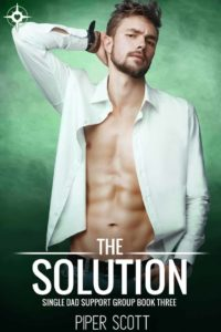 Book Cover, The Solution by Piper Scott